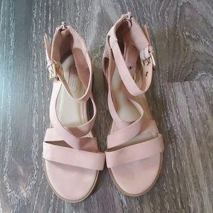 Forever 21 Blush Pink Sandals